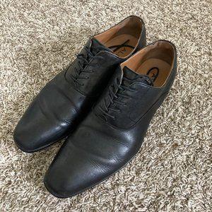 Aldo Men's Black Leather Dress Shoes